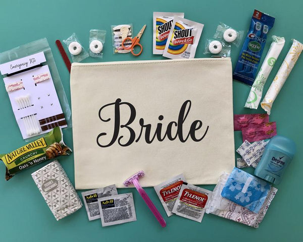bridal emergency kit | Bride Stuff You Need