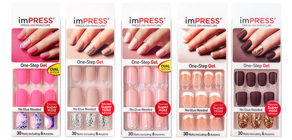 ImPress Press-On Gel Manicure | Affordable Beauty Products for Brides-to-Be | Kennedy Blue
