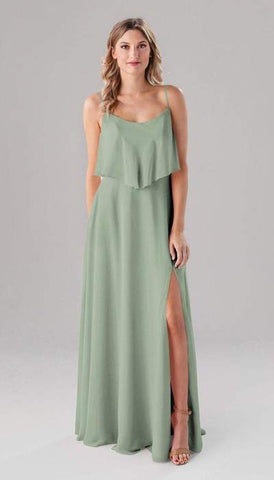 Ella Sage Green Bridesmaid Dress
