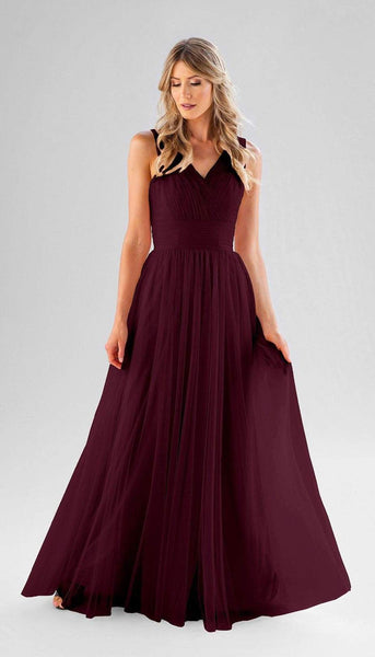 Joelle Kennedy Blue Bridesmaid Dress | Tulle Bridesmaid Dresses