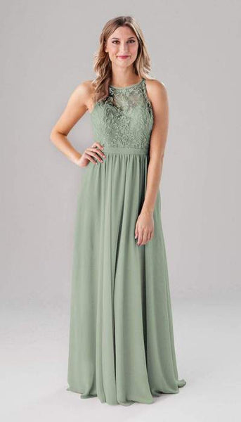 Maria Sage Green Bridesmaid Dress Kennedy Blue