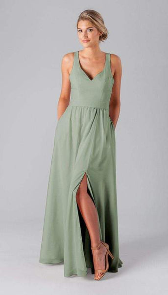 Riley Sage Green Bridesmaid Dress Kennedy Blue