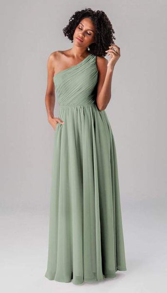 Athena Sage Green Bridesmaid Dress Kennedy Blue