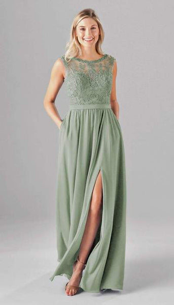 Jade Sage Green Bridesmaid Dress Kennedy Blue