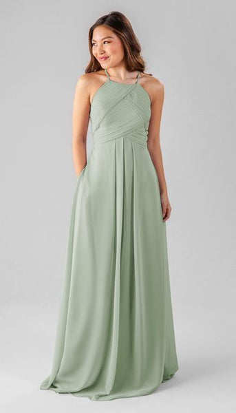 Milly Sage Green Bridesmaid Dress Kennedy Blue