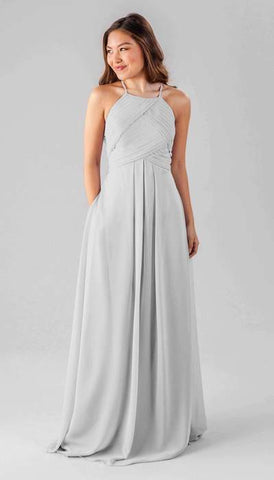 Milly Silver Bridesmaid Dress