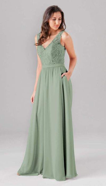 Wren Sage Green Bridesmaid Dress Kennedy Blue