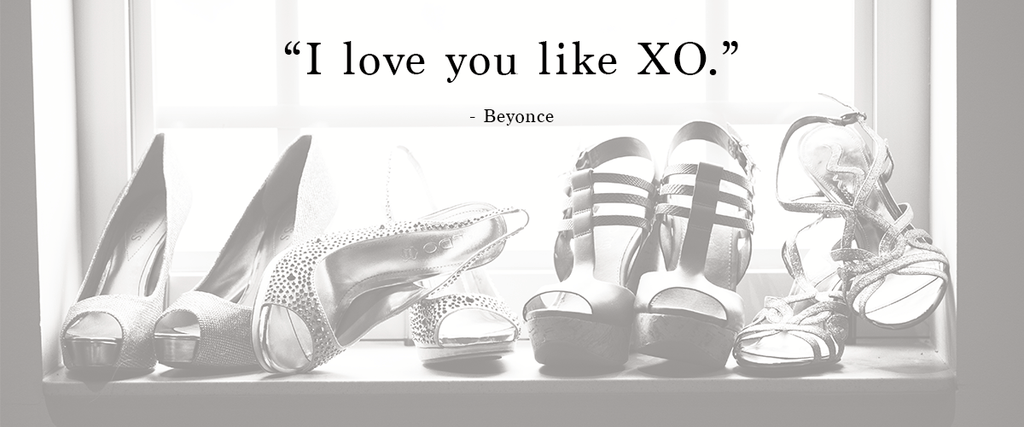 """I love you like XO."" 