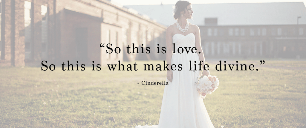 """So this is love. So this is what makes life divine."" 