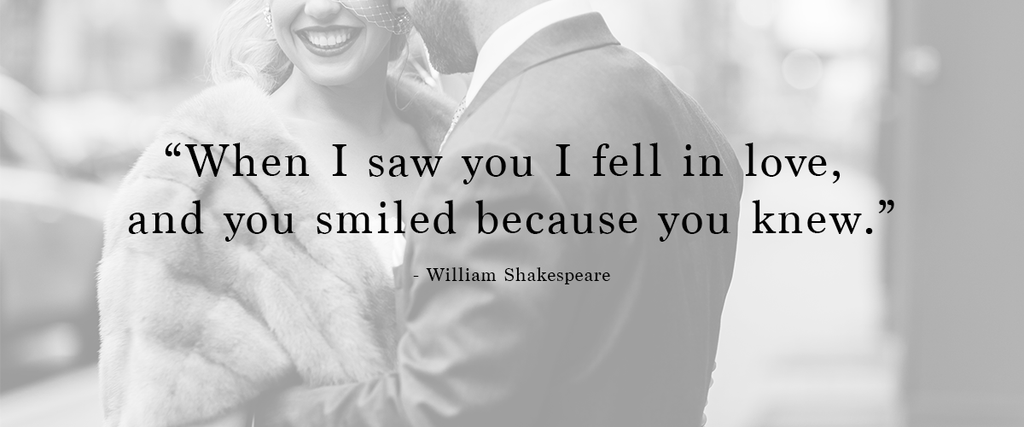 Shakespeare love quote | 48 Love Quotes to Use For Your Wedding