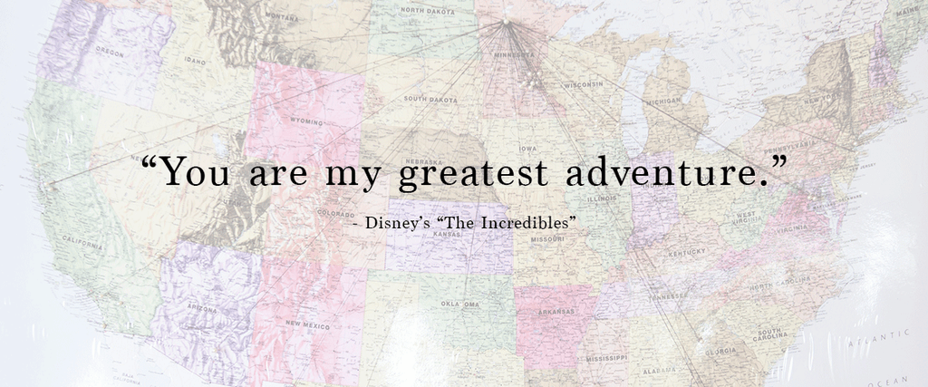 """You are my greatest adventure."" 