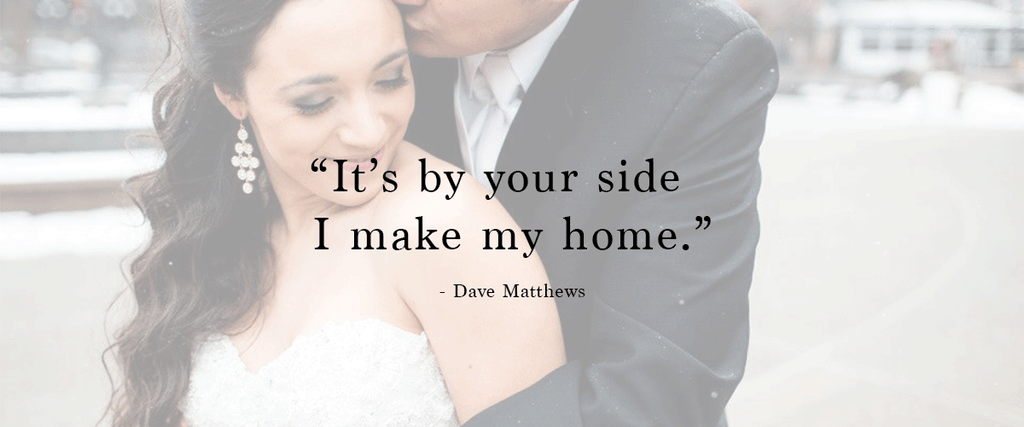"""It is by your side I make my home."" 