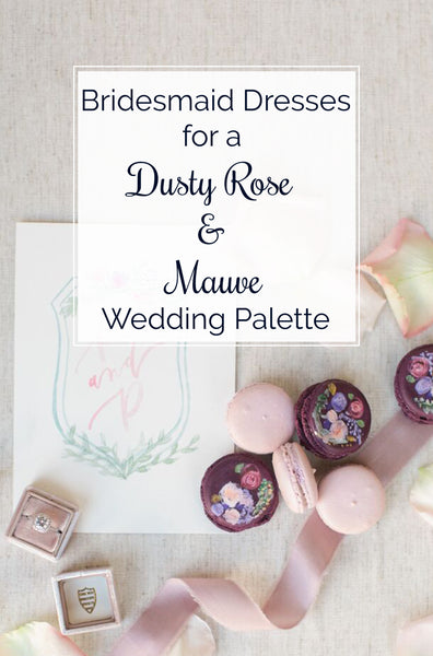 Dusty Rose and Mauve Wedding
