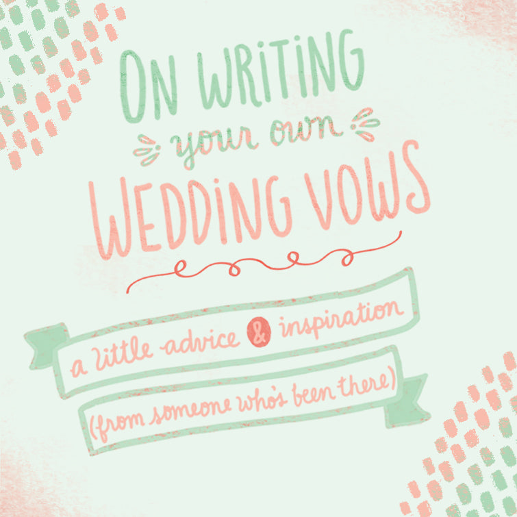 Tips on writing your own wedding vows | The Ultimate Guide To Writing Your Own Wedding Vows | Kennedy Blue