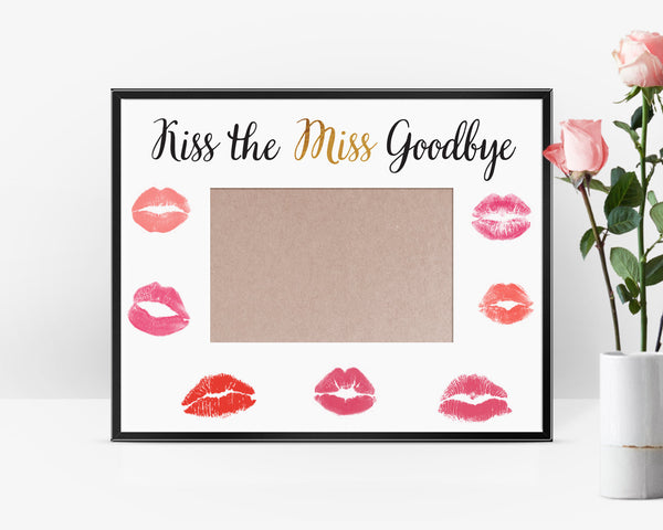 image relating to Kiss the Miss Goodbye Printable identified as 51 Plans For An Memorable Bachelorette Celebration Kennedy Blue