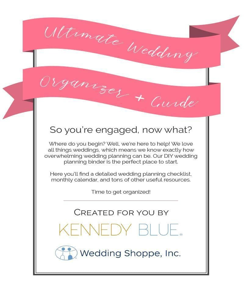 How To Start Planning A Wedding.The Ultimate Wedding Planning Organizer Guide Kennedy Blue