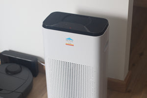 how the hepas air purifier looks at home