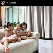 Load image into Gallery viewer, HEPAS Air Purifier featured by Clara @chanclaraa