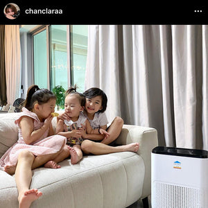 HEPAS Air Purifier featured by Clara @chanclaraa