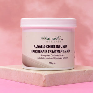 Algae And Chebe Infused Hair Repair Treatment Mask