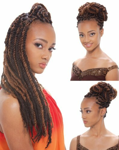 Janet Collection Noir Afro Marley Braid
