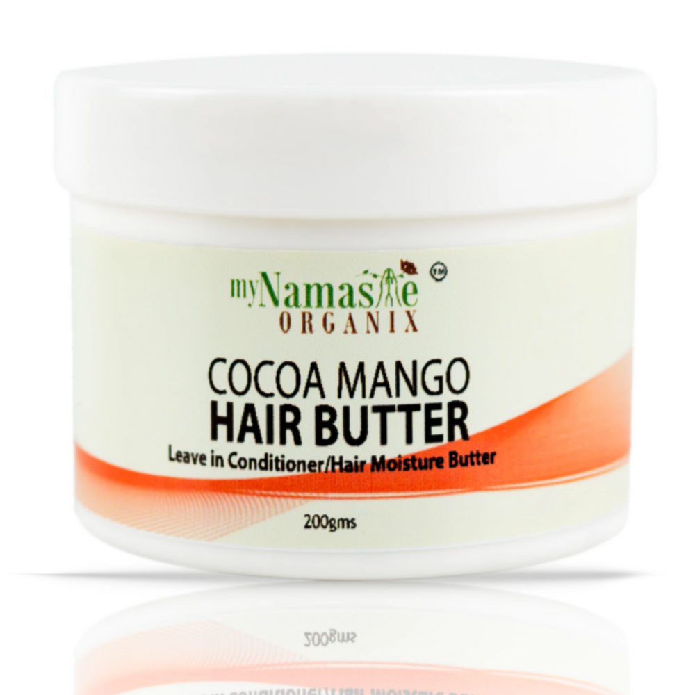 Cocoa Mango Hair Butter With Rosemary And Peppermint