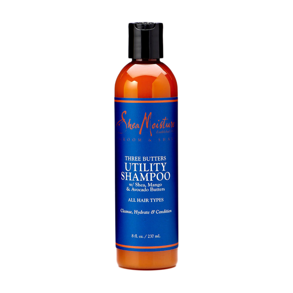 SheaMoisture For Men Three Butters Utility Shampoo