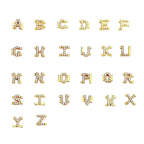 Alphabet Letter charms for customizing your charm bangle - OurCoordinates