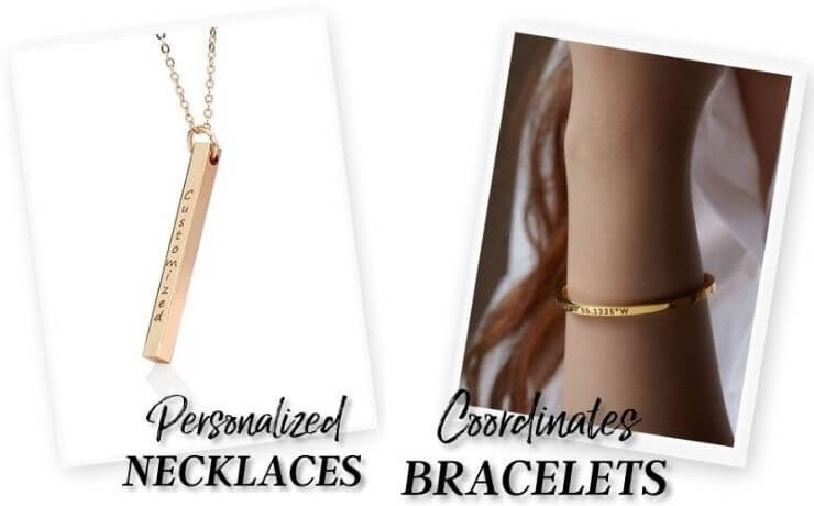 personalized necklaces and coordinates bracelets - OurCoordinates
