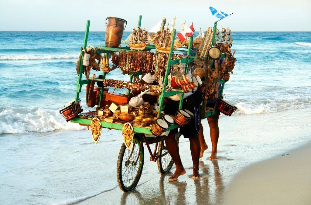 there are several small beach vendors at every beach - OurCoordinates