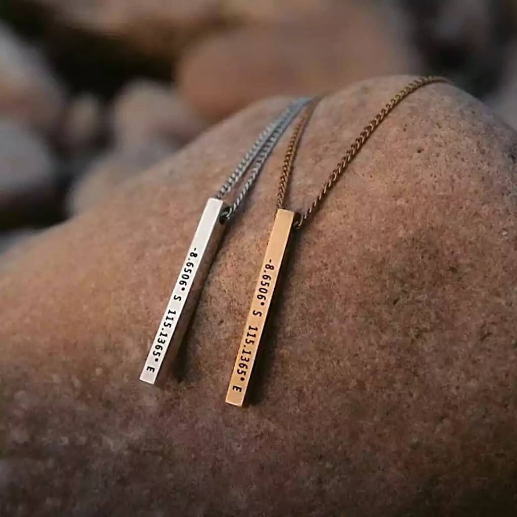 matching coordinates necklaces - OurCoordinates