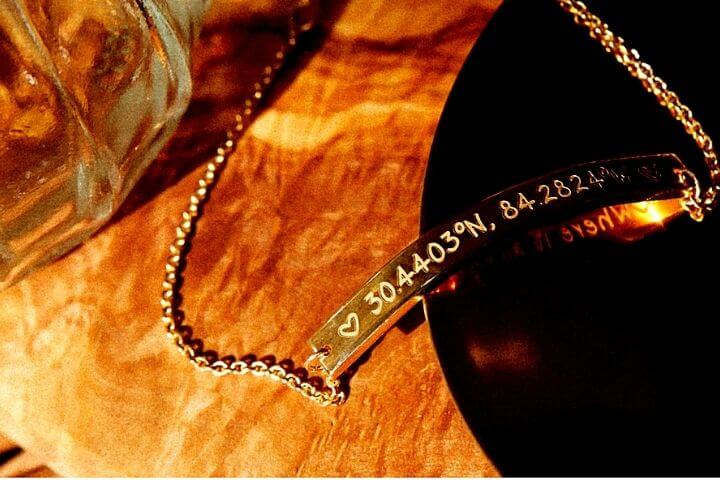 when to gift coordinates jewelry - OurCoordinates