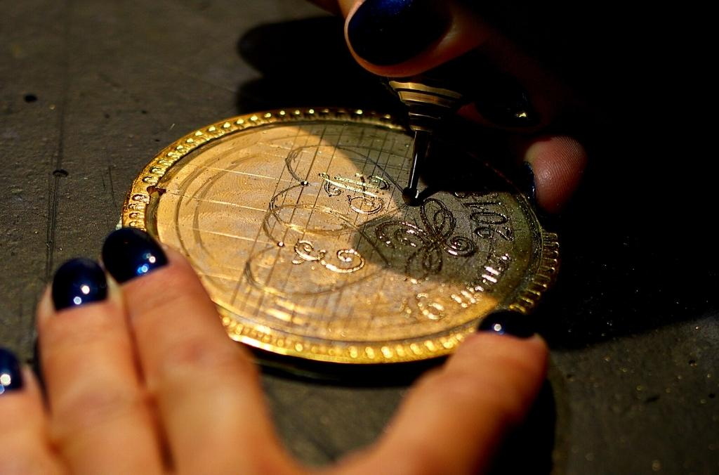 Etching is a very popular engraving technique for jewelry - OurCoordinates blog
