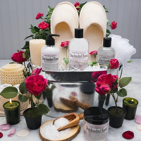 Rose spa day gift package - OurCoordinates