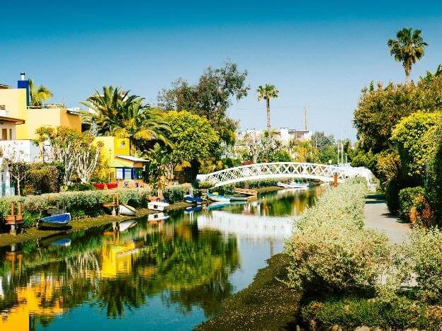 a secret beach in california is the venice canals - OurCoordinates