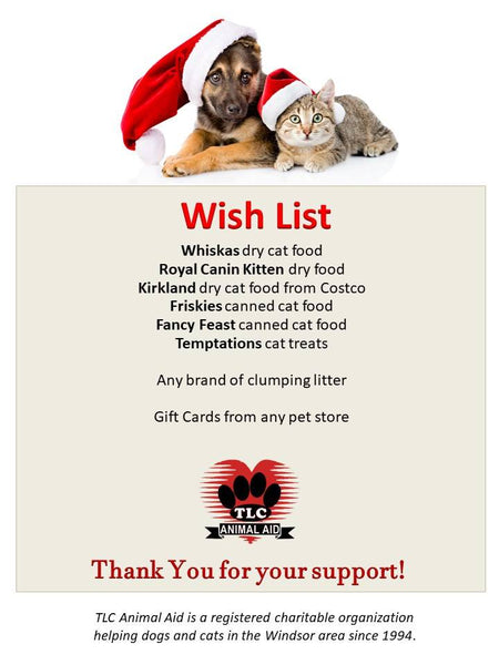 TLC Wish List
