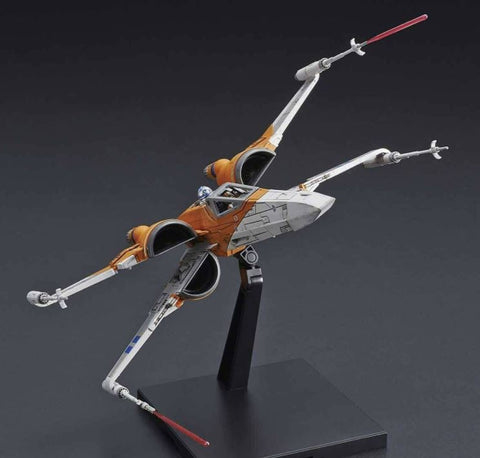 "Bandai Poe's X-Wing Fighter (Rise of Skywalker Ver.) ""Star Wars"", Bandai Spirits 1/72 Vehicle Model"