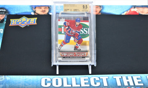 Alex Galchenyuk 2013-14 Upper Deck Young Guns  #203 BECKETT 9.5