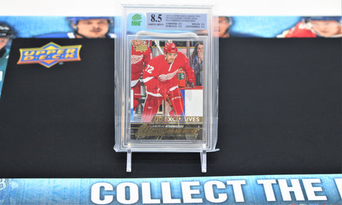 Andreas Athanasiou 2015-16 Upper Deck UD Exclusives Young Guns 64/100 #458 MNT 8.5