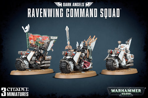 Space Marines -Dark Angels- Ravenwing Command Squad