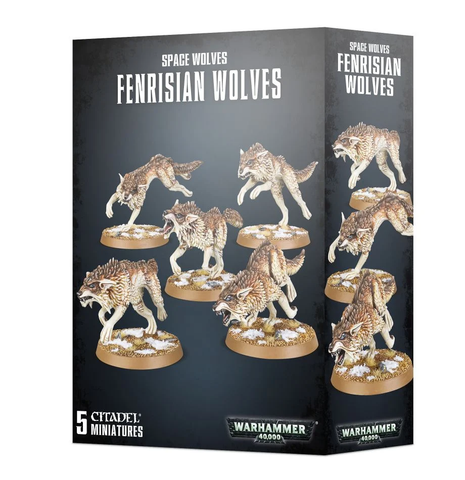 Space Marines -Space Wolves- Fenrisian Wolves