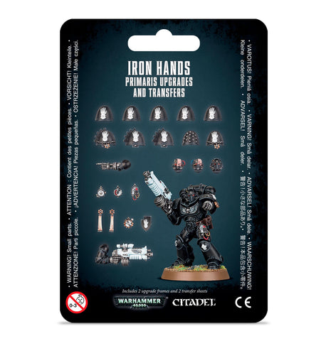 Space Marines -Iron Hands- Primaris Upgrades and Transfers