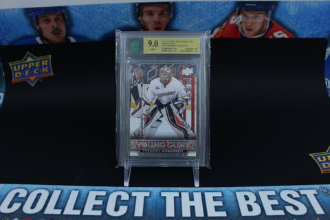 Frederik Andersen 2013-14 Upper Deck Series Two Young Guns #462 MNT 9.0