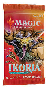 Japanese Ikoria: Lair of Behemoths Collector Booster Pack