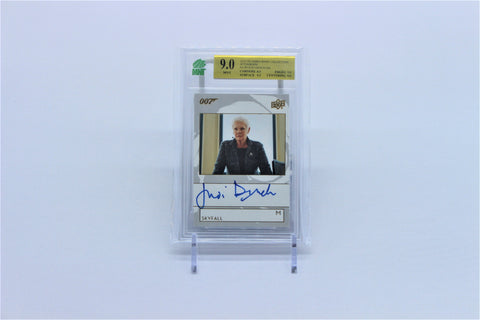 Judi Dench (M) - 2019 UD James Bond Collection Autograph - #A-JD - MNT 9.0