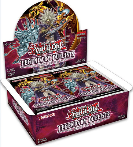 Yu-Gi-Oh! Legendary Duelists - Rage of Ra Booster Box