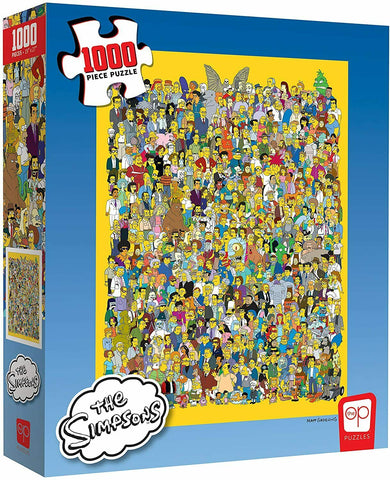 Puzzle: 1000 The Simpsons