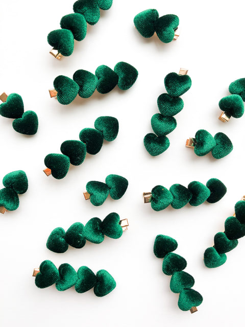 Green Hearts Clip