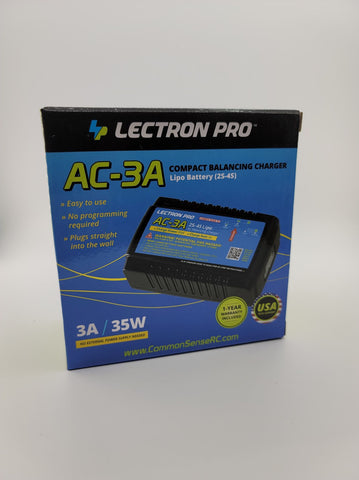Lectron Pro 3 amp Charger (charge without removing lipo from mod)