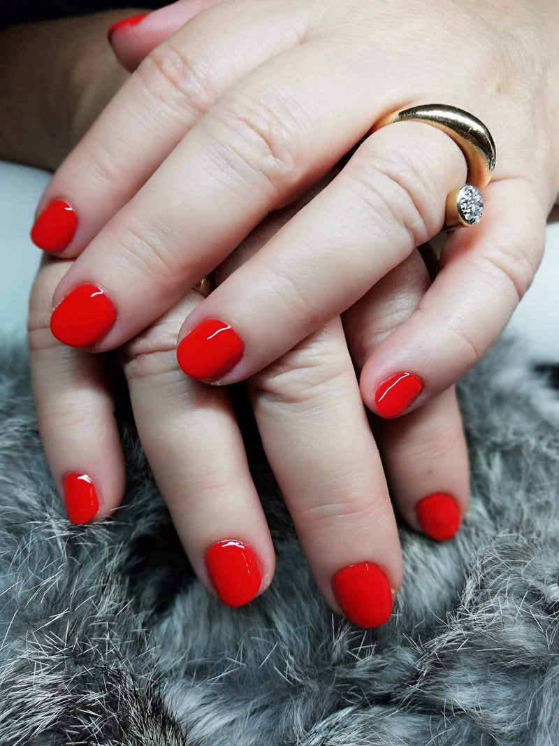 Gel Polish Rosey Red